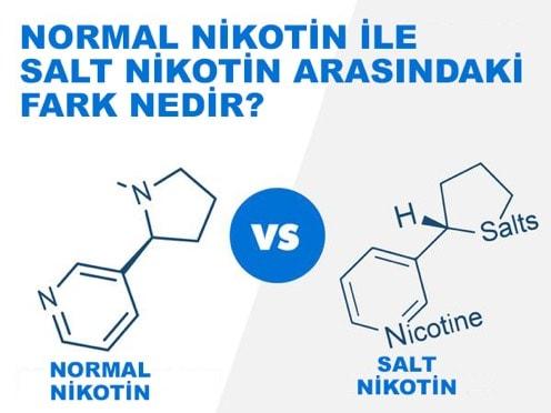 Normal Nikotin ve Salt Nikotin Arasındaki Farkı